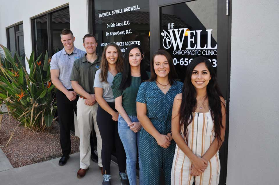 The team of Chiropractors at The Well